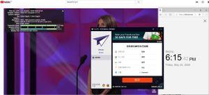 Windows10 PureVPN Denmark 中国VPN 翻墙 科学上网 youtube测速-20200522