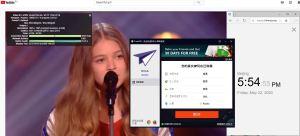 Windows10 PureVPN Russia 中国VPN 翻墙 科学上网 youtube测速-20200522