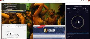 Windows10 StrongVPN 中国专用版APP OpenVPN-TCP USA Houston #301 服务器 中国VPN 翻墙 科学上网 10BEASTS Barry测试 - 20210309