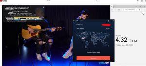 Windows10 StrongVPN IKEv2 Houston-USA 中国VPN 翻墙 科学上网 youtube测速-20200522
