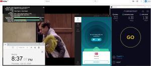 Windows10 SurfsharkVPN Denmark 中国VPN 翻墙 科学上网 测速-20200723
