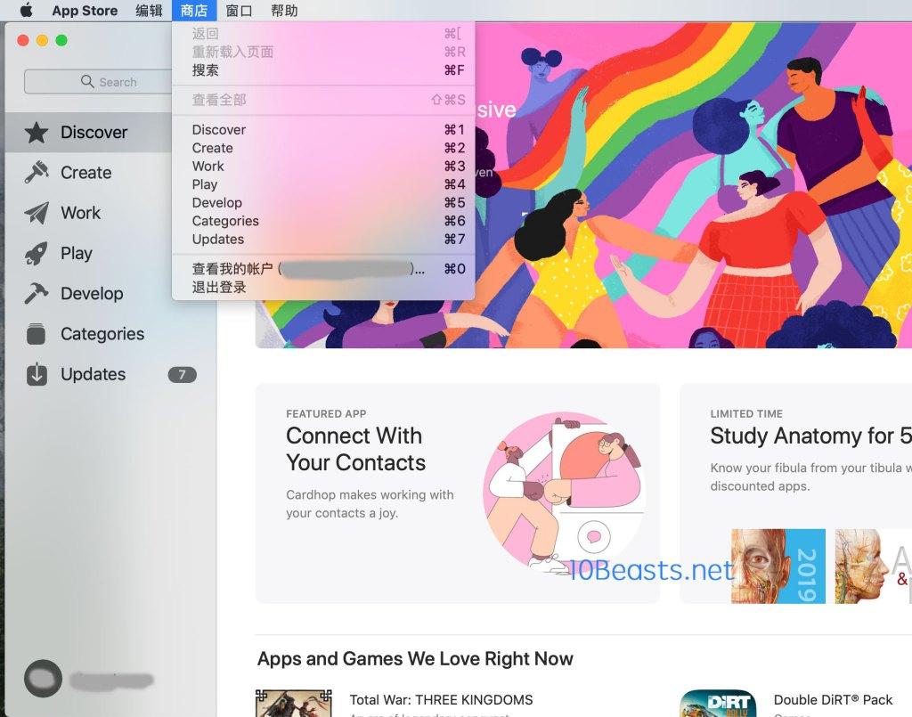 macbook-app-store-退出切换登陆美国ID