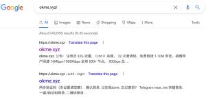 okme.xyz 机场 Google搜索截图 2021-07-11 at 10.36.55