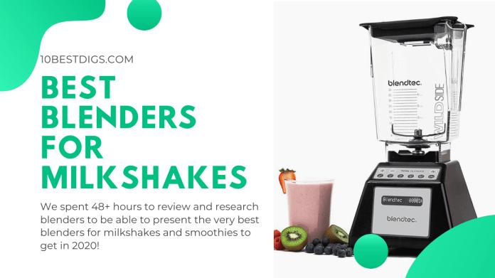 10 Best Blenders For Milkshakes And Smoothies Reviewed Jan 2021