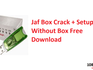 Jaf Box Crack + Setup Without Box Free Download