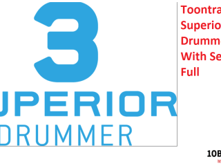 Toontrack Superior Drummer Crack With Serial Key Full