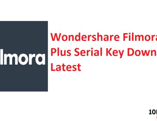 Wondershare Filmora Crack Plus Serial Key Download Latest