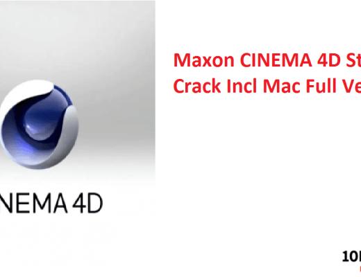 Maxon CINEMA 4D Studio Crack Incl Mac Full Version