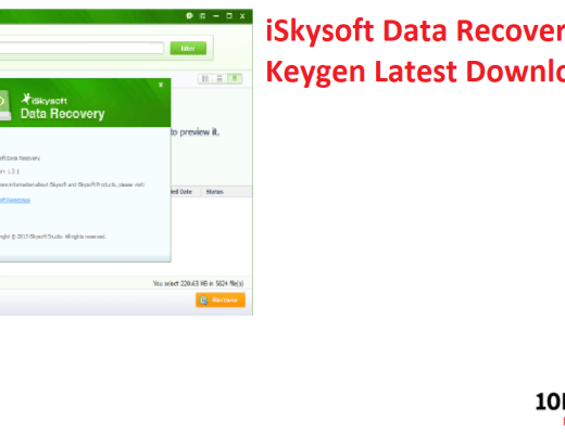 iSkysoft Data Recovery Crack + Keygen Latest Download