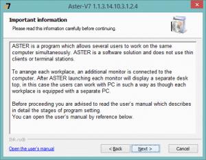 ASTER Key