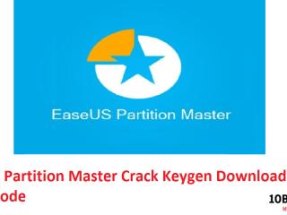 EaseUS Partition Master Crack Keygen Download Key + Code