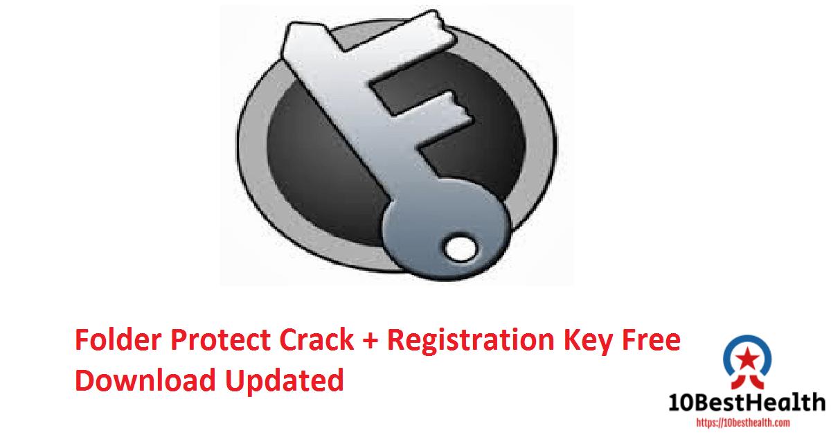 Folder Protect Crack + Registration Key Free Download Updated