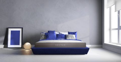 Bedroom with Nectar mattress