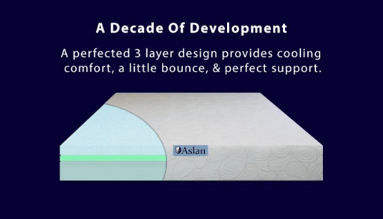 Aslan Mattress A Decade of Development