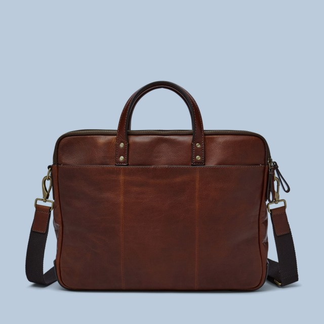 Fossil Haskell Double Zip Briefcase-10bestsales