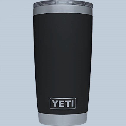 The Yeti Rambler 20-ounce tumbler