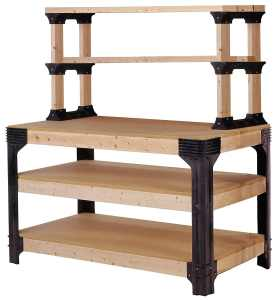 2x4basics 90164 Workbench and Shelving Storage System review
