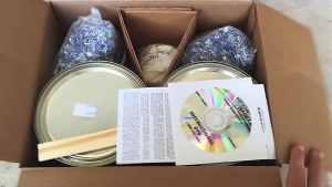 Comes in box Rust-Oleum Epoxy Garage Kit