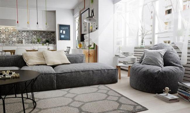 Εκπληκτικά Διαμερίσματα που επιδεικνύουν το Σκανδιναβικό Interior Design -Μέρος 1ο