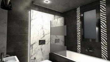 Κρυφός φωτισμός και χωνευτά spots μπάνιου