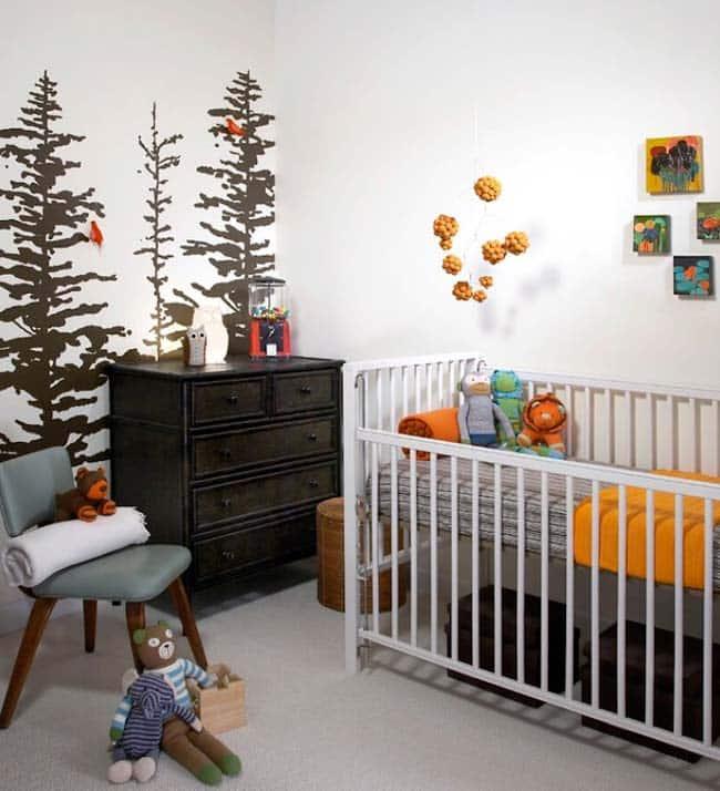 5 Δημιουργικές ιδέες για τοίχους με σκηνές από το δάσος
