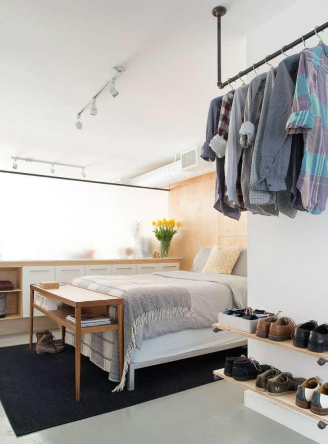 Δεν έχω ντουλάπα. Που να κρεμάσω τα ρούχα μου;