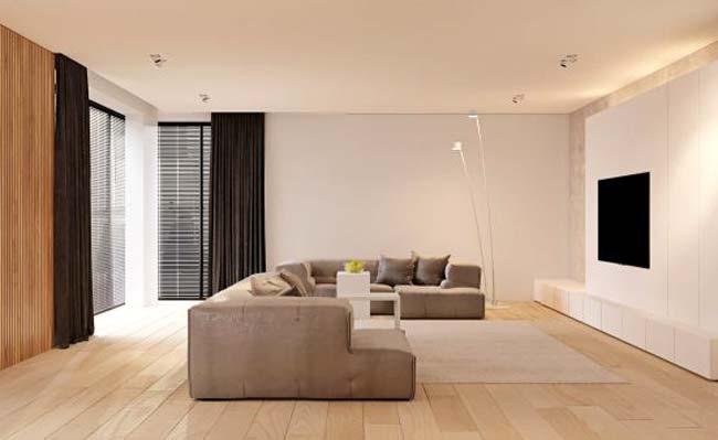 Το minimal συναντά το ξύλο και τον κρυφό φωτισμό