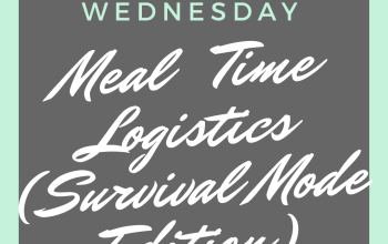 Meal Logistics on Survival Mode