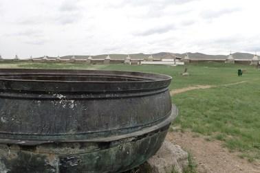 Dans l'ancienne capitale mongole