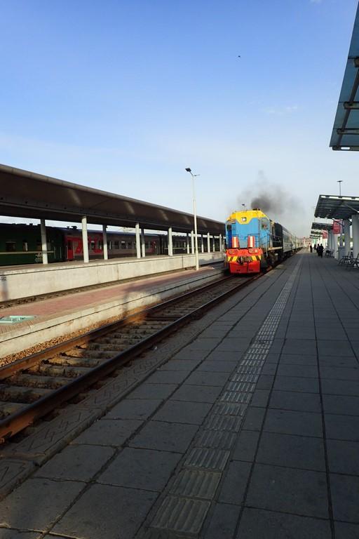 Notre train arrive...
