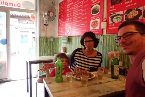 Premier repas chinois