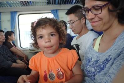 Dans le train pour Datong