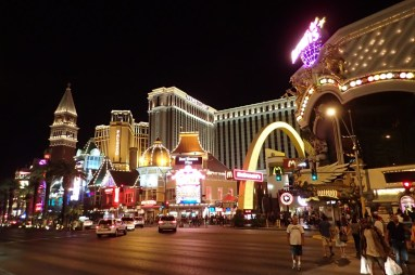 LV by night