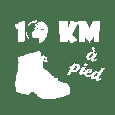 10km à pied