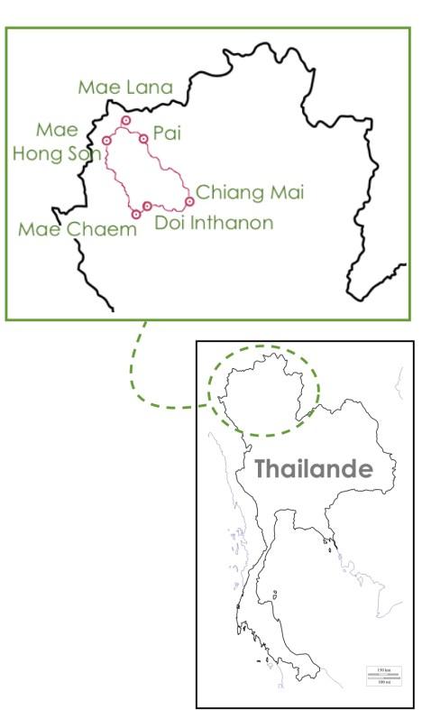 Boucle Moto Nord de la Thailande