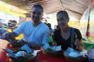 Premier repas Indonésien