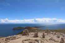 Isla del Sol - ruines