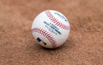 A fresh baseball
