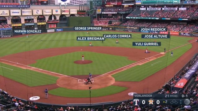 Manfred seeks to eliminate fielder shifts like this pictured