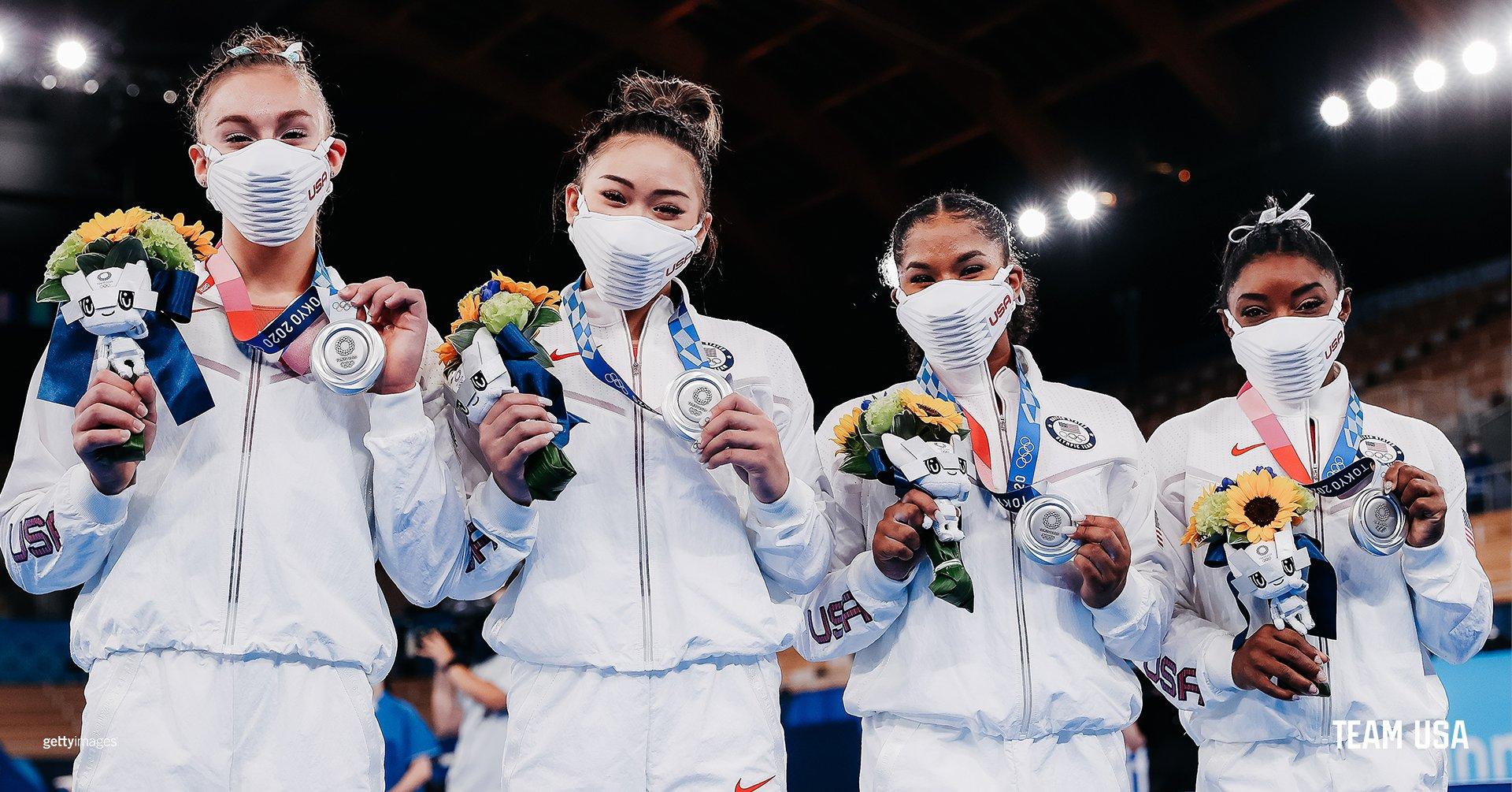 suni lee w silver medal