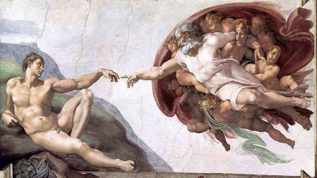 michalengelo the creation of adam