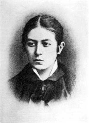 Vera Figner karakalem portre