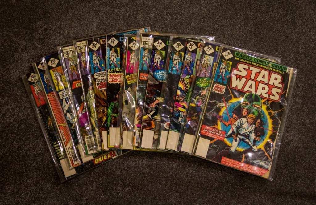 star wars çizgi romanları