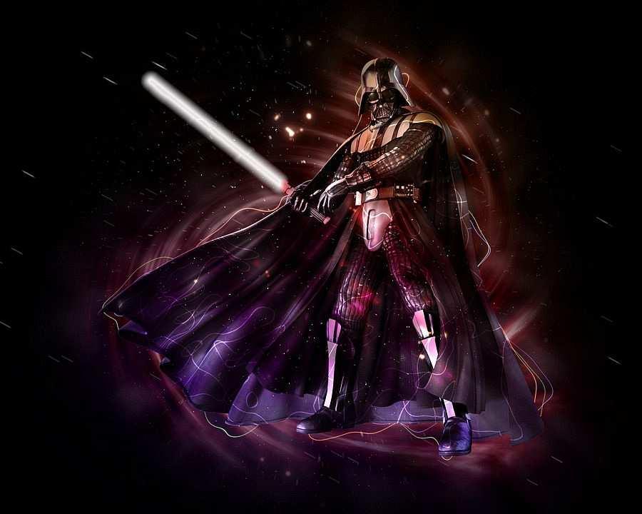 dart vader ve ışın kılıcı