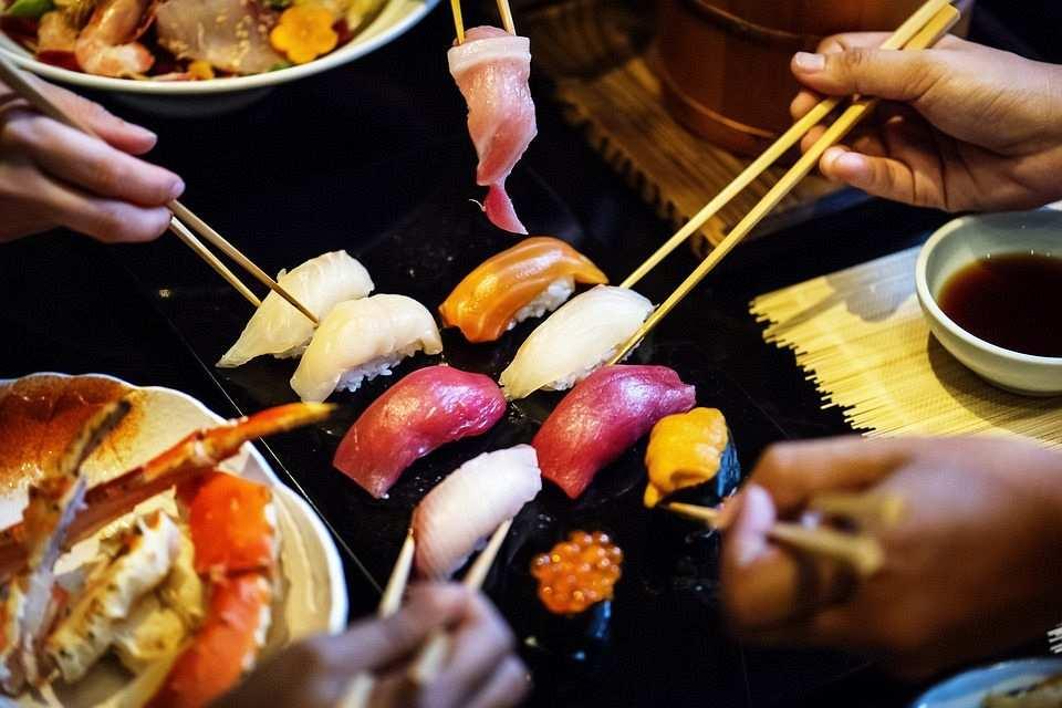 sashimi tabağı