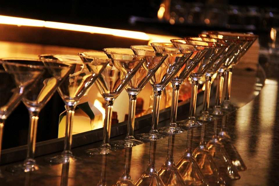 martini kadehleri