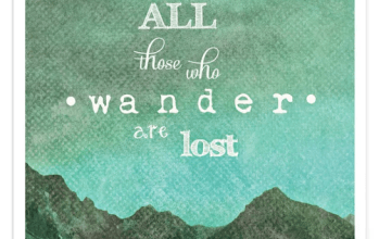the truth about Wandering