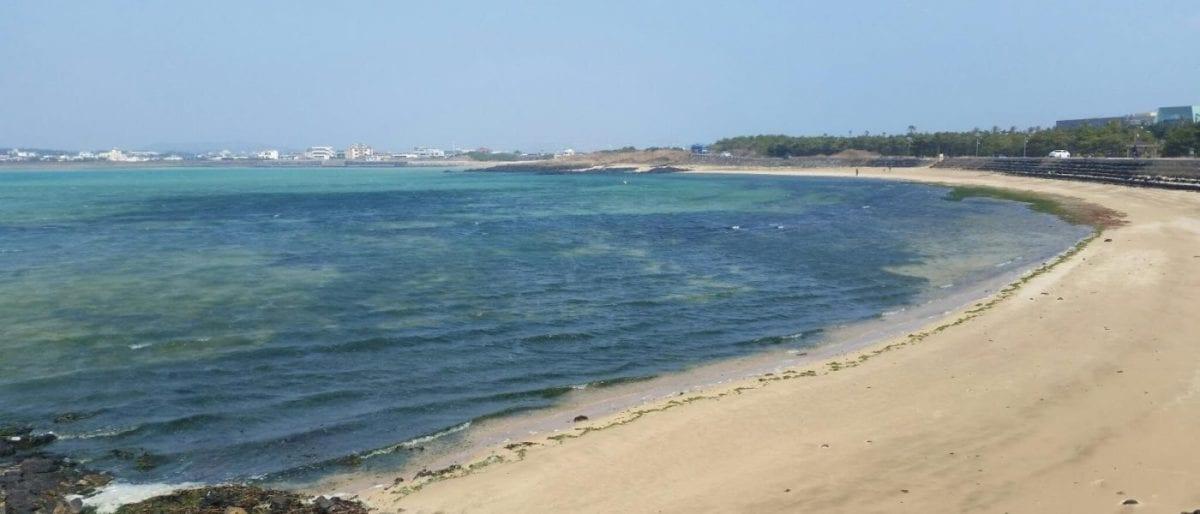 best jeju beaches Shin-yang Beach