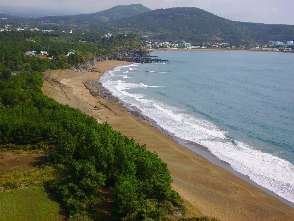 top jeju beaches Hwa-sun Beach