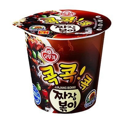 Kog Jjajang Bokki 콕짜장볶이 korean ramen guide